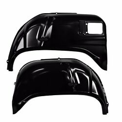 1962 Chevyii Impala Wheelhouse Rear Outer Pair Right And Left Side Edp Steel Dii
