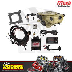 Fitech Go Efi 4 650hp Classic Fuel Injection System Gold - Fh30020