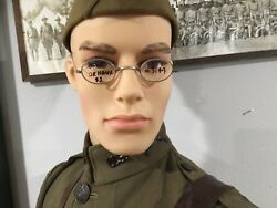 Circa Early 1900's Antique Spectacles with Saddle Bridge - Dr. Haux $2 - 3144