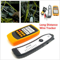 Long Distance Wire Tracker Short And Open Cable Circuit Finder Tester Diagnostic