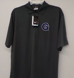 Nike Georgetown University Hoyas Ncaa Mens Embroidered Polo Xs-4xl, Lt-4xlt New