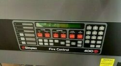 New Simplex 4010es Cpu And Annunciator Free Ship 1 Year Protection Plan Incl.