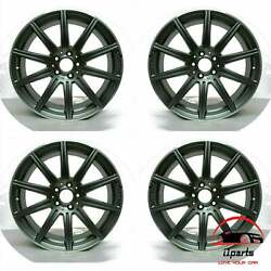 Set Of 4 Mercedes Cls63 Cls63s 2013-2018 19 Factory Oem Staggered Wheels Rims