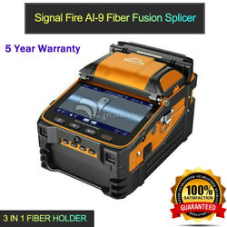 Ai-9 Automatic Optical Fiber Fusion Splicer 5 Tft Display Power Meter 3 In 1