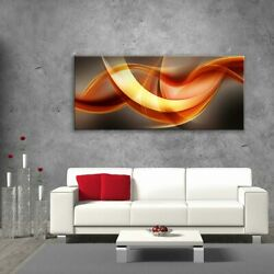 Glass Picture Toughened Wall Art Unique Modern Print Abstract Waves Any Size
