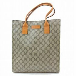 US SELLER Authentic Gucci Tote Bag Browns 263G2190