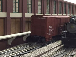 O Scale Layout Union Pacific Trackside Warehouse Shadowbox 2-piece Set 24 Long