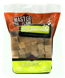 Fornetto Bbq Fuel Apple Wood Smoking Chunks 1kg Ethically Sourced Aust Brand