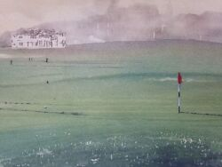 17th Green St. Andrews Signed By J Garrington Limited Edition Golf Print