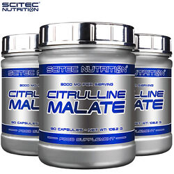 Citrulline Malate 90 Caps 3000mg Pre Workout Nitric Oxide No Booster Muscle Pump
