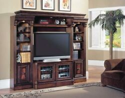Parker House - Huntington Expandable Space Saver Entertainment Wall In Vintag...