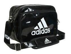 Adidas Enamel Shoulder Cross Bags Black Running Casual GYM Bag Sacks CX4046 $79.99