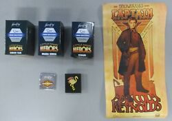 Firefly Loot Crate Lot Little Heroes Figures Art Nouveau Poster Set Flamingo Pin