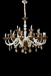Aico Furniture - Rundale 28 Light Chandelier In Clear And Chrome - Lt-ch919-2...