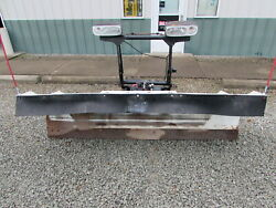 Used Blizzard 8ft 8000hd Snow Plow Power Hitch 2