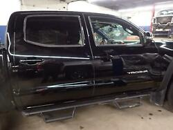 16 17 Tacoma Right Cab Clip Metal Body Cut Crew Cab W/o Sunroof Black 202