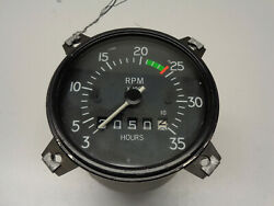 Aircraft Tachometer And Hour Meter By Goodrich 3320-00009
