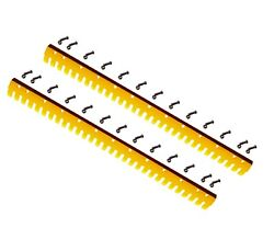 2 - 6ft Heat Treated Curved Serrated Grader Blade 5d-9553s, T66703s, 5/8x6x72