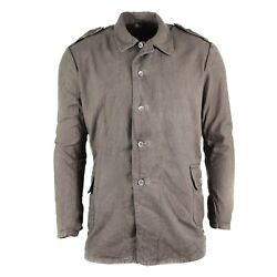 Original Swedish Army Shirt Grey Tactical Combat Sweden Military Surplus Issue