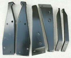 Thunderbird Ford Front Bumper Mounting Brackets Support 1966 66 Factory Oem