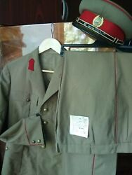 Rare Infantry Nco Uniform Set Military Suit Cold War Romanian Army Warsaw Pact