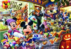 1000 Piece Jigsaw Puzzle Disney Halloween Is A Fuss 51 X 73.5 Cm New