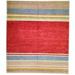 Barkat Rugs Hand-knotted Modern Design Wool Handmade Size 8.1 X10.3 Brral-942