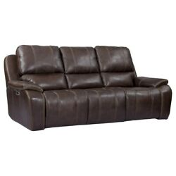 Parker Living - Potter Walnut Dual Power Reclining Sofa With Usb And Power Head...