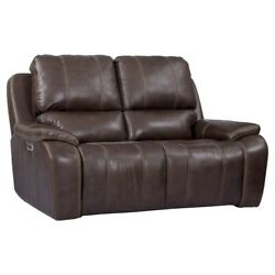 Parker Living - Potter Walnut Dual Power Reclining Loveseat With Usb And Power ...