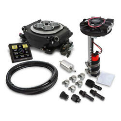 Holley Sniper EFI & Ignition Kit 550-511D-302; Returnless 650 HP TBI for SBF