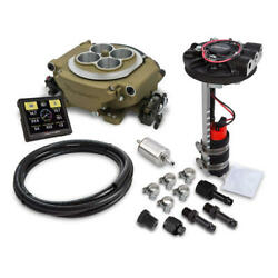 Holley Sniper EFI & Ignition Kit 550-516D-351W; Returnless 650 HP TBI for 351W