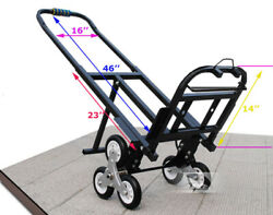 Stair Climbing Hand Truck Folding Cart Portable Moving Tool Heavy Loading