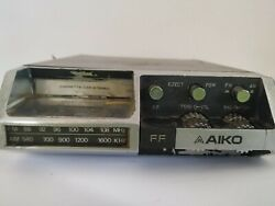 Vintage Aiko Car Radio Cassette Acs-217 70and039s