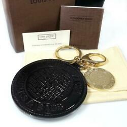 Louis Vuitton Rare Gold Brown Key Ring Charm Sg59 from Japan Free Shipping