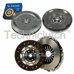 2 Part Clutch Kit And Sachs Dmf For Audi Tt Roadster Convertible 2.0 Tdi Quattro
