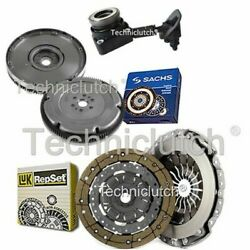 Luk 2 Part Clutch Kit And Sachs Dmf With Csc For Volvo C30 Hatchback 2.0