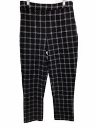 Joan Rivers Regular Length Signature Printed Pull-On Ankle Pants Small Size QVC
