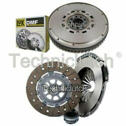 Nationwide 3 Part Clutch Kit And Luk Dmf For Audi Coupe 2.8 Quattro