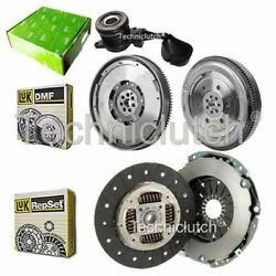 LUK CLUTCH KIT AND LUK DMF WITH VALEO CSC FOR FIAT DUCATO BOX 130 MULTIJET 2.3 D