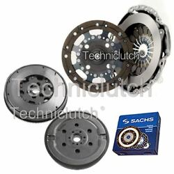 ECOCLUTCH 2 PART CLUTCH KIT AND SACHS DMF FOR FORD FUSION ESTATE 1.4 TDCI