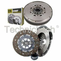 Nationwide 3 Part Clutch Kit And Luk Dmf For Audi 100 Berlina 2.6 Quattro