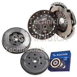 ECOCLUTCH 2 PART CLUTCH KIT AND SACHS DMF FOR FORD FIESTA V BOX 1.4 TDCI