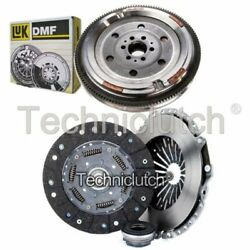 Nationwide 3 Part Clutch Kit And Luk Dmf For Audi A4 Convertible 1.8 T Quattro