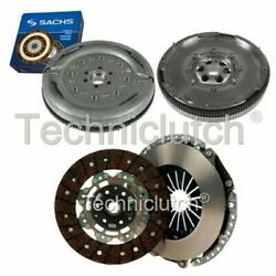 Nationwide 2 Part Clutch Kit And Sachs Dmf For Audi A3 Convertible 2.0 Tdi