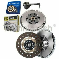 2 Part Clutch Kit And Luk Dmf And Sachs Csc For Audi Tt Coupe 1.8 T Quattro