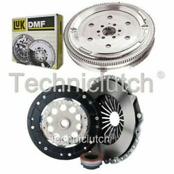 Nationwide 3 Part Clutch Kit And Luk Dmf For Audi A6 Estate 1.8 T Quattro