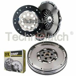 Nationwide 3 Part Clutch Kit And Luk Dmf For Audi A4 Berlina 1.8