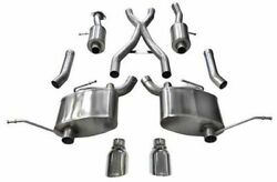 Corsa Sport Cat-back Exhaust For 2011-2021 Jeep Grand Cherokee 5.7l 14991