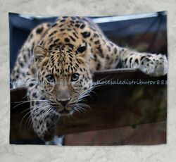 bohemian wall tapestry big wild cat wall hanging tapestry