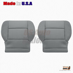 2016 2017 Chevy Silverado Front Left And Right Bottom Cloth Seat Cover In Ash Gray